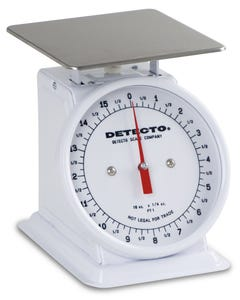 Detecto PT-1000RK Top Loading Rotating Dial Scale