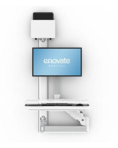 Enovate T-9K-00-00 e997 w/ 42 track standard keyboard extension cpu bracket & holder