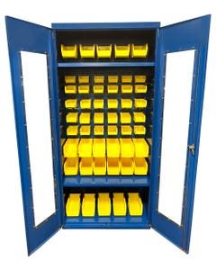 Equipto QVC361878LPBC-001 Quick View Cabinets With Bins