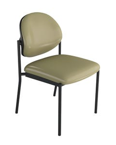 healtHcentric Upholstered Pivot Back Chair