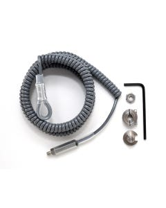Exergen 124311 Coiled Rubber Security Cable for Temporal Scanner Instrument Holder