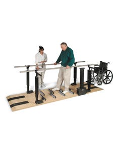 Hausmann 1398 Patented Mobility Platform with Electric Height Bars