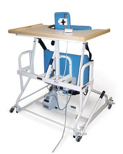 Hausmann 6185 Bariatric 500 lb. Electric Stand-In Table W/ Patient Lift Harness