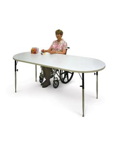 Hausmann 6650 Oval Extension Table