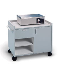 Hausmann 6695 Mobile Cabinet for Splinting and Supplies
