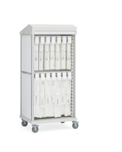 Innerspace Roam 2 Stent Cart with Roll-Top Door, SR2RSTE
