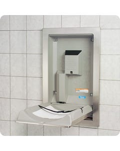 Koala Kare Stainless Steel Mounted Baby Changing Station
