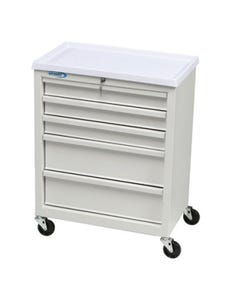 Lakeside Model BV05 Bedside Cart W/ 5 Drawers