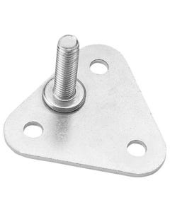 Lakeside Rpplate Foot Plate, Round