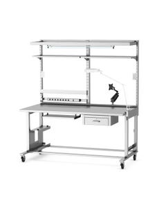MAC Medical Prep and Pack Workstations with Manual Height Adjustment