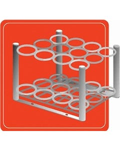 """2007 """"D/E"""" 12-Slot Small Cylinder Stand"""