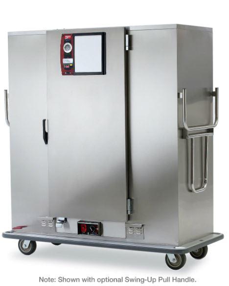 Intermetro MBQ-120-QHA One-Door Banquet Cabinet, Quad-Heat Thermal System, 120V, 60Hz, 1650W