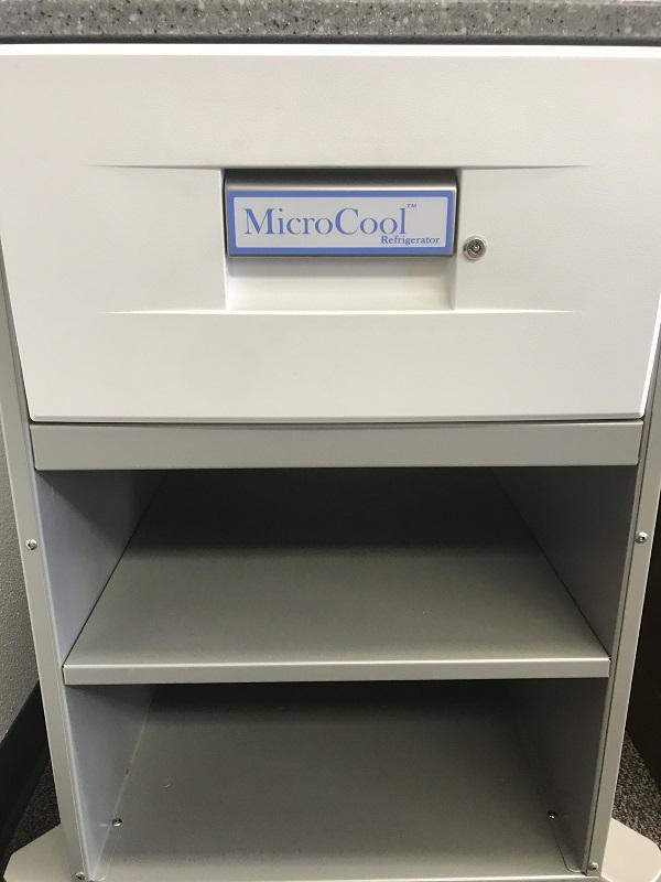Creche PMS-SC Microstand w/ Built-In MicroCool Refrigerator