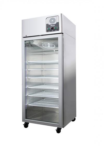 Migali G-1RG 23 Cu Ft Locking Glass Door Pharmacy/Vaccice Refrigerator
