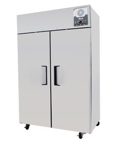Migali G-2R 49 Cu Ft Upright Two (2) Locking Solid Door Pharmacy/Vaccine Refrigeration