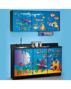 Clinton7936-X Ocean Commotion Table & Cabinet