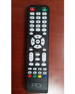 PDi Patient Remote for control of DVD Modules on medTV, PD108-427