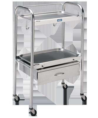 Pedigo Anesthetist Table with Drawer, P-1100-SS