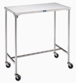Pedigo Mid-Size Stainless Steel Instrument Table