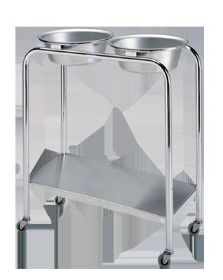 Pedigo Stainless Steel 7 Quart Basin Stand, P-1079-W/S-SS