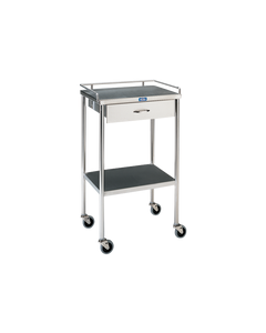 Pedigo Stainless Steel Utility Table with 1 Drawers, SG-80-SS