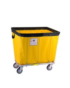 R&B Wire Permanent Liner Basket Truck w/ Antimicrobial Liner