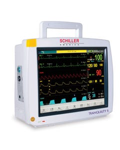 Schiller Tranquility II Touch Screen Multiparameter Patient Monitor