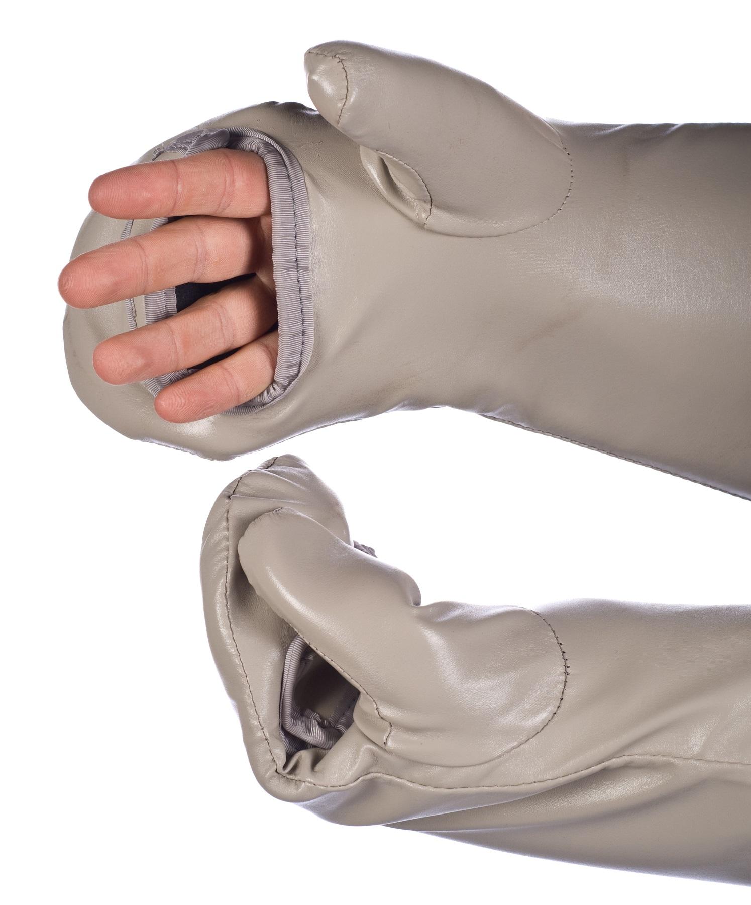 InFab Mitten/Open Split Palm/.5mm Pb