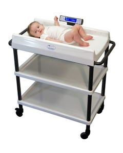 SR Instruments SR635i Pediatric Scale with Cart