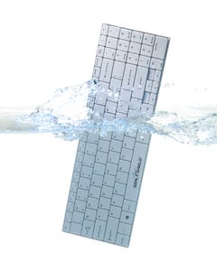 Seal Shield Clean Wipe Antimicrobial Medical Grade Chiclet Keyboard