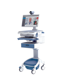 Touchpoint Medical TeleMedicine Computer Cart