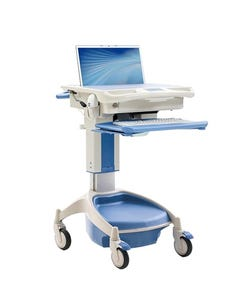 TouchPoint Medical Laptop Cart