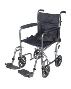 Drive Lightweight Steel Transport Wheelchair