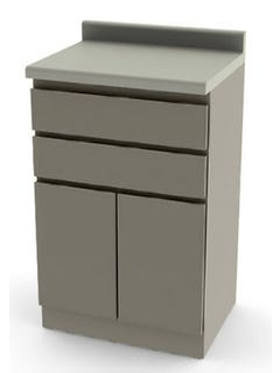 UMF Medical 6014-SC Modular Base Cabinet with 2 Soft Close Drawers