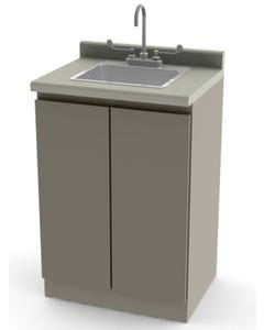 UMF Medical 6024-F Modular Base Cabinet with Touchless IR Faucet