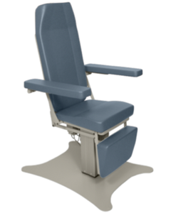UMF Medical 8678 Phlebotomy Chair with Hi-Lo and Power Back