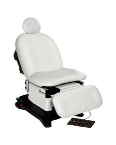 UMF Medical proGlide5016 Power Podiatry/Wound Care Procedure Chair, Hand and Foot Control, Base and Fire Rated Top, 5016-650-300F