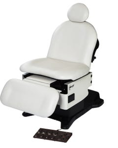 UMF Medical Power Procedure Chair, Hand and Foot Control, Base and Fire Rated Top, 4010-650-200F