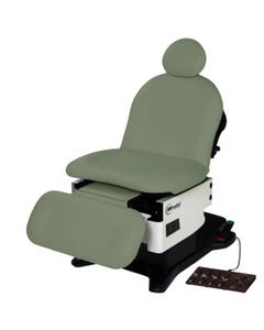 UMF Medical ProGlide4010 Power Procedure Chair, OneTouch WheelBase, Base and Fire Rated Top, 4010-650-300F
