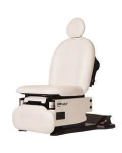 UMF Medical proGlide4011 Universal Procedure Chair, OneTouch WheelBase, Base and Fire Rated Top, 4011-650-300F