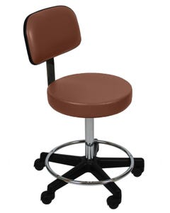 UMF Medical 6760F Ultra Comfort Stool with Back, Cal133