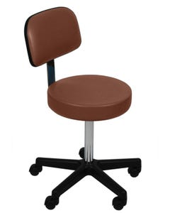 UMF Medical 6766F Ultra Comfort Stool with Back, Cal133