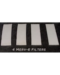 VidaShield VS-Filter Replacement Merv6 Filters (Four Each)