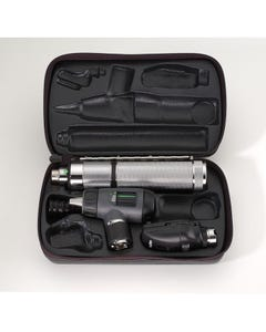 Welch Allyn Diagnostic Set - Halogen Pneumatic Otoscope / Ophthalmoscope and Plug-in Handle, 97120