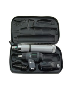 Welch Allyn Diagnostic Set -Halogen Coaxial Ophtalmoscope/Oto/L-Ion Set with Led, 97201-MSL