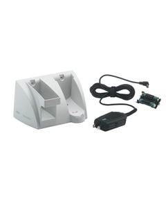 Welch Allyn Recharging Base Station With Probe Cover Refill Dispenser for Braun Thermoscan PRO 4000, 24001-1000