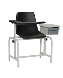 Winco 2570 Economical Phlebotomy Chair with Storage Drawer