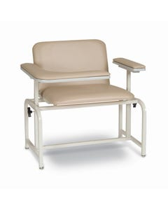 Winco 2575 XL Padded Vinyl Blood Drawing Chair