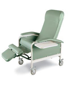 Winco 6530 Care Cliner with Nylon Casters