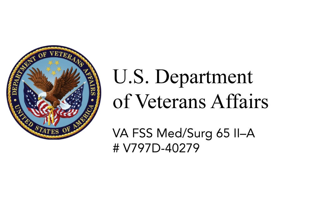 VA Hospital Equipment Procurement